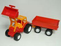 Трактор с ковш.и приц.(4)
