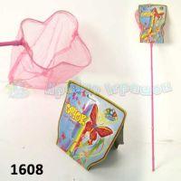 Сачок для бабочек (100шт)5цветов,на планшетке 20*80см