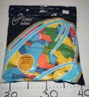 """Надувные шарики 7""""пастель ассорти"""