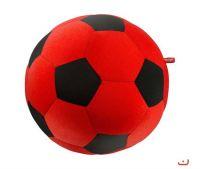 Игрушка антистресс Футбольный мяч красный р.20*20