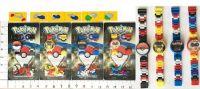 """Часы-конструктор """"Pokemon GO"""" 4в.лист ((960))"""