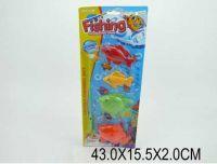 Рыбалка (240шт/2) магнит.удочка, 4 морские животных, на планшетке 53*19*5см