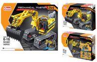 Конструктор Mechanical Master (24шт) 2в1, 342-361дет, 2 вида на выбор, в коробке