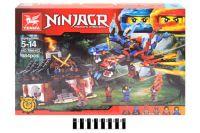 """Конструктор """"NINJAGR"""" (коробка) 684 дет. р.52*35*7,5см"""