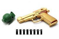 Пистолет музыкальный с гранатой (60)