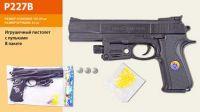 Пистолет (144шт/2) в пакете 19*29см