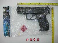 Пистолет (192шт/2) в пакете 16*24см