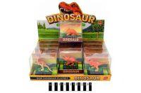 Набір  динозаврів муз.  (коробка 12 шт. ) р.9,5х4,5х9см.