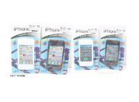 Телефон мобильный Iphone муз.сенсорн.экран 2в.2цв.лист 10,5*19 ((600))