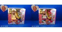Кукла-пупс интерактивный с аксес. 8ф-ций распак.2в.кор.37*18*37 ((12))