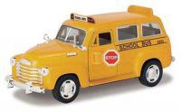 """Машина металл """"Chevrolet Suburban School Bus 1950""""((12))"""
