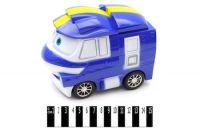 """Автобус (озвучений, з світ. ефект.) """"Робокар """"Полі""""  р.16,5*9,5*12,5 см."""