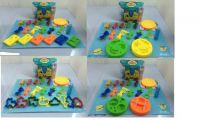 Набор для творчества пластилин, формочки, в кор.19*10*13 см ((48))