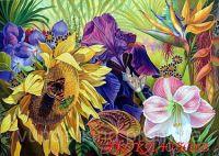 """Картины по номерам """"Цветочная эйфория"""""""