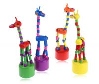 Жираф деревянный ((12))