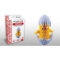 """Модульное оригами """"Цыплёнок в скарлупе"""" 468м (24)"""