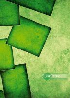 """Зошит А5. Серія """"Colors 3"""": Зелена  абстракція (96 аркушів, клітинка)"""
