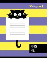 Блокнот для нотаток А5. Crazy cat