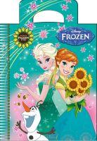Альбом для малювання. Серія Frozen - Квіти для Ганни. А6