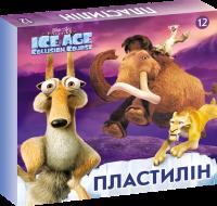 """Пластилин """"Ледниковый период"""" 12 цветов"""