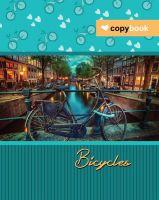 Блокнот В5. Серія «Велосипеди» (пружина)