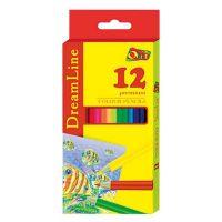Карандаши цветные DreamLine. 12 цветов