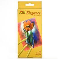 Набор цветных карандашей «Elegance» Olli, 12 шт