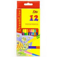 Набор цветных двусторонних карандашей «DreamLine» Olli, 12 шт (24 цвета)