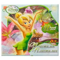 Пластилин «Феечки». 10 цветов