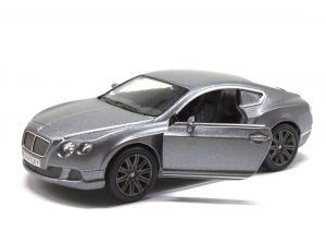 """Машинка KINSMART """"Bentley Continental GT """" (серая)"""