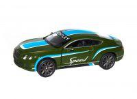 "Машинка KINSMART ""Bentley Continental GT"" (зеленая)"