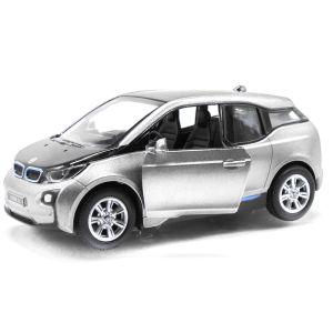"""Машинка KINSMART """"BMW I3"""" (серебристая)"""