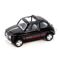 """Машинка KINSMART """"Fiat 500"""" (черная)"""