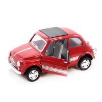 """Машинка KINSMART """"Fiat 500"""" (красная)"""