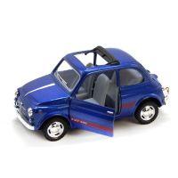 """Машинка KINSMART """"Fiat 500"""" (синяя)"""
