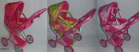 Зимняя коляска для куклы MELOGO 9346 (HT)