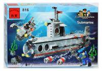 Конструктор BRICK Субмарина 382 деталей