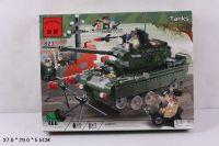 Конструктор BRICK танк 466 деталей