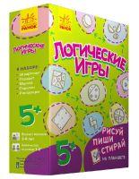 Логічні ігри: Логические игры (зеленая) (р)