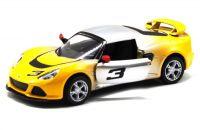 "Машинка KINSMART ""Lotus Exige S"" (серо-желтая)"