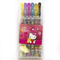 Набор гелевых ручек «Hello Kitty». 12 цветов