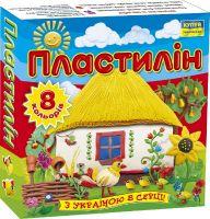 """Пластилін """"Моя країна"""". 8 кольорів. 110 г."""
