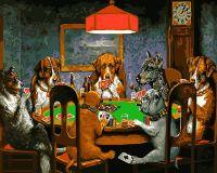 """Картина по номерам """"Покер"""""""