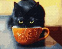 """Картина по номерам """"Счастливый котик"""""""