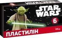 Пластилін STAR WARS. 6 кольорів. 105 г